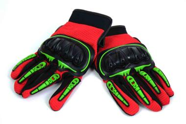 Guantes Cross Racing Monster Rojo