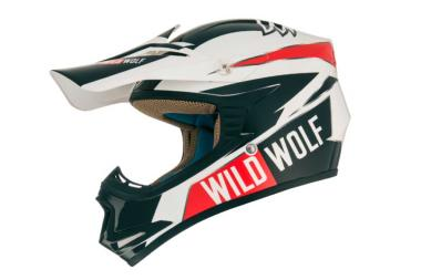 Casco Shiro Wild Wolf Kids