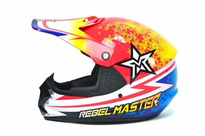 Casco Rebel Master MX Infantil
