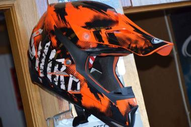 Casco Shiro MX305 Cross Naranja