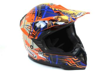 Casco Shiro MX Brigade